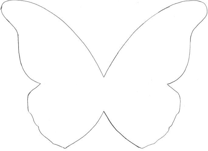 Vectorisation la d coupe d 39 un menu - Silhouette papillon imprimer ...