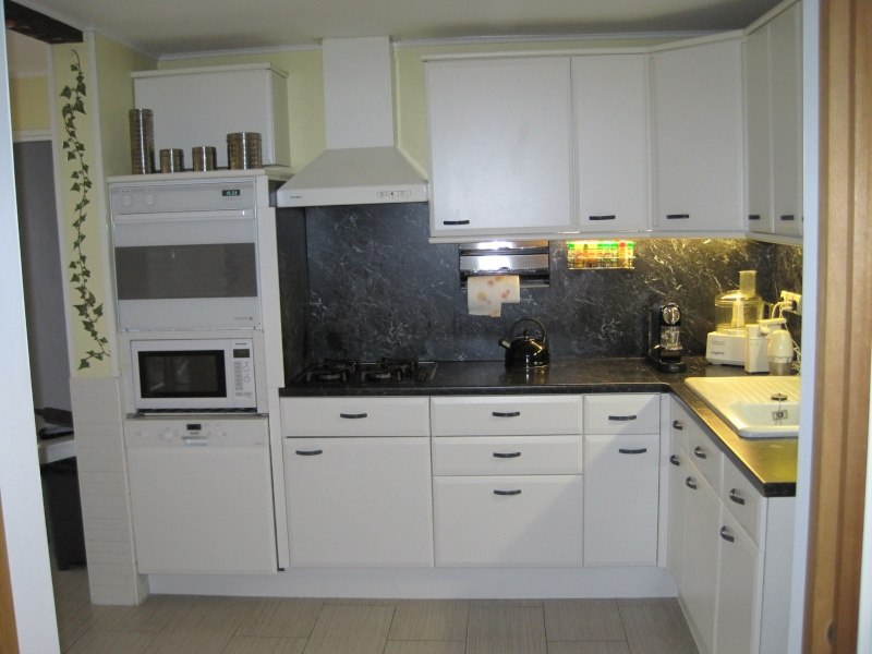 Quelle couleur pour les murs de ma cuisine associer la peinture orange dans salon cuisine et for Quelle peinture pour une cuisine