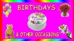 Birthday Wishes and other Special Occasions`