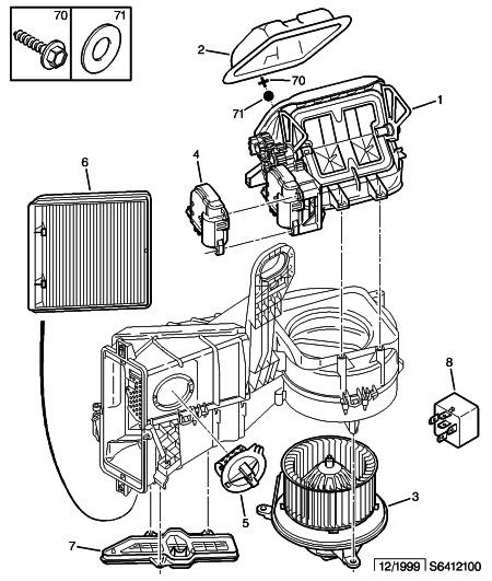 Schema electrique ventilateur chauffage zx