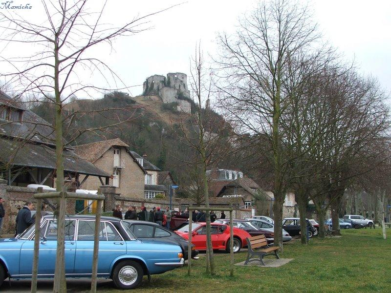 Chateau Gaillard Avant Restauration
