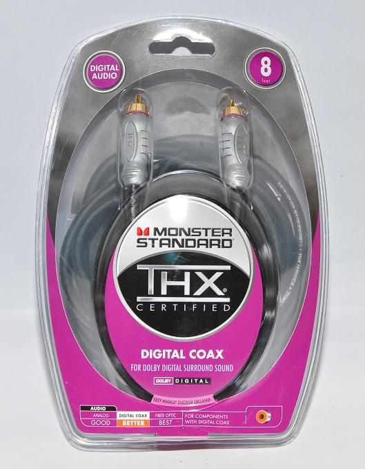 Monster® THX Digital Coaxial Interconnect (New)