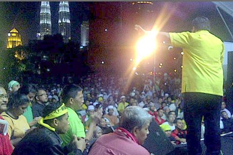 Gambar Sekitar Himpunan Kebangkitan Rakyat : HKR 12-Januari-2013 .