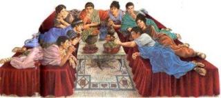 La table du Jeudi saint dans Communauté spirituelle repas-10