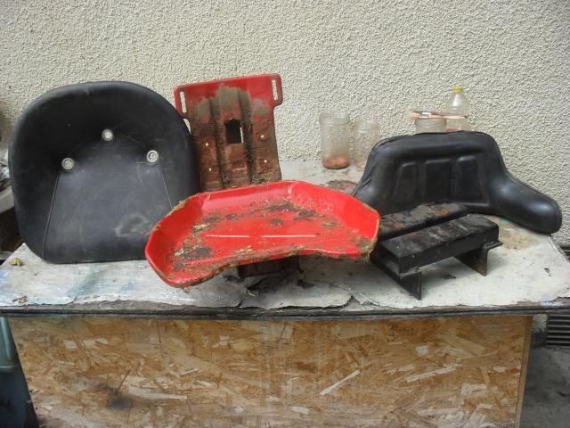 Restauration de mon renault d35 de 1959 - Siege tracteur ancien ...