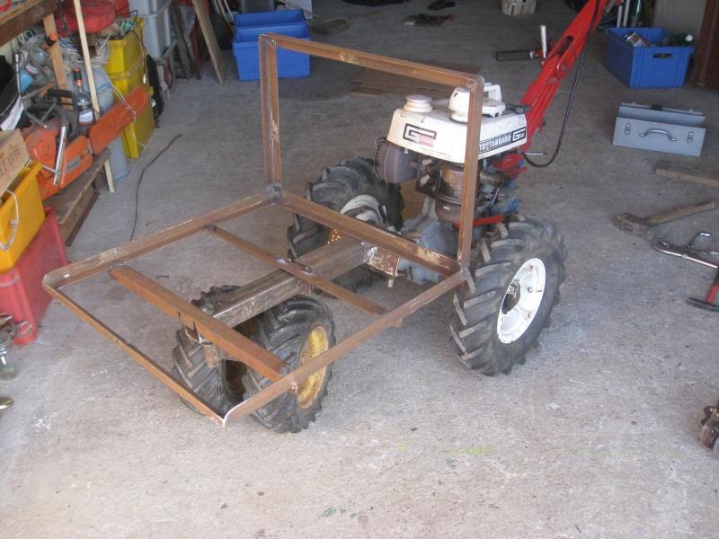 Plan pour construire une brouette a moteur