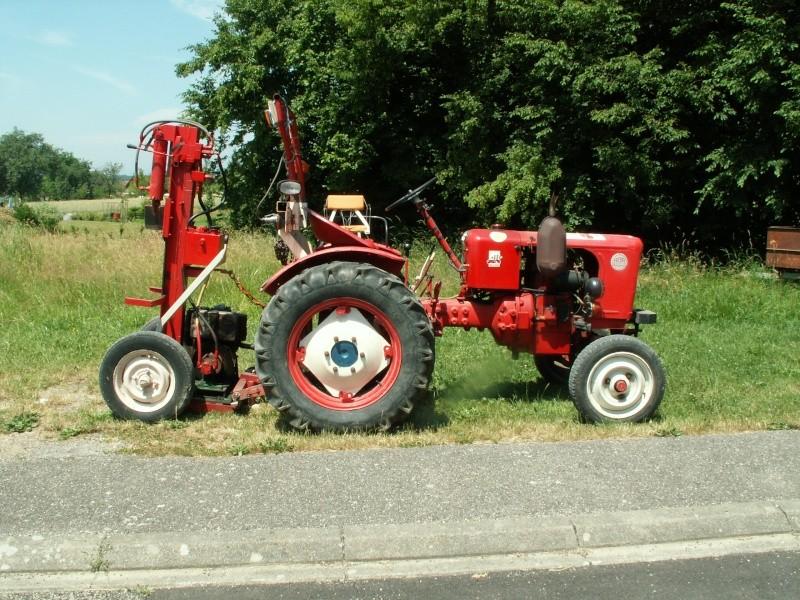 tracteur VENDEUVRE bob 500 ~ Fendeuse A Bois Occasion Pour Tracteur