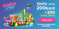 Casino Joy $/£/€1000 bonus + 200 Free Spins