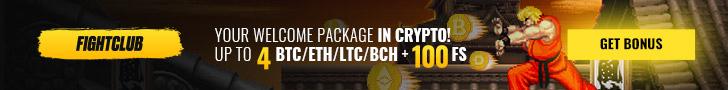 FightClub Casino $/€400 welcome bonus + 150 Free Spins