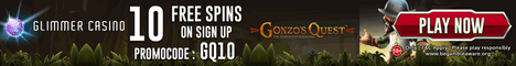 Glimmer Casino 10 free spins no deposit Bonus 200% Bonus