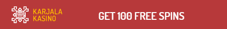 Karjala Kasino 100 Free Spins No Deposit Bonus 100% bonus