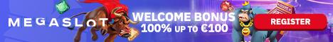 MegaSlot Casino $/€200 Bonus + 100 Free Spins