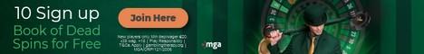 Mr Green Casino 10 bonus spins no deposit bonus Ireland