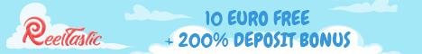 Reeltastic Casino $/€10 no deposit bonus
