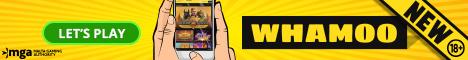 Whamoo Casino up to 100% Bonus + up to 300 Free Spins