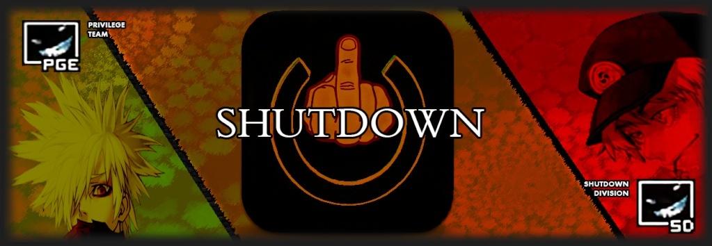 División activa: Shutdown