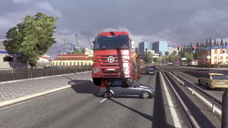 Screenshot accidents Euro Truck Simulator 2 - SCS Software