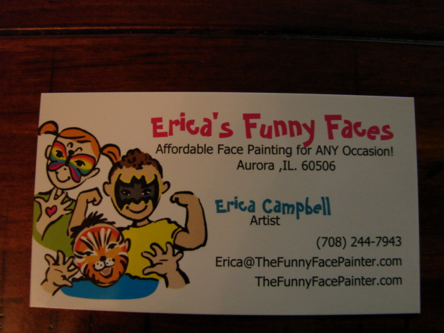 Face Painting Business Cards Templates Best