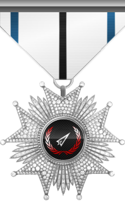 Medal of Defense Excellency: This medal is awarded to a member who specially distinguishes in defending his/her co-members and/or base.