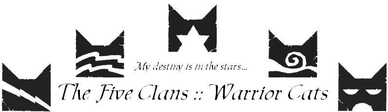 The five clans: warrior cats