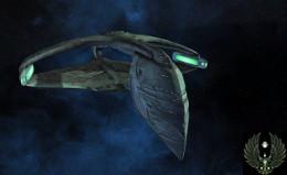 Warbird cuirassé D'Deridex Modernisé